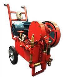 Conserto em bomba de teste hidrostatico eletrica