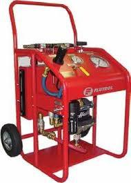 Conserto em bomba de teste hidrostatico pneumatica